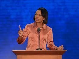Condoleeza Rice speaking at Republican National Convention.  Dr. Rice is from Birmingham