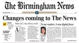 Does Birmingham suck with no daily newspaper?