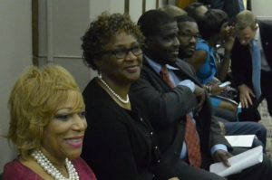 Members of the Birmingham City Schools Board of Education