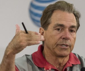 Nick Saban, head football Coach University of Alabama