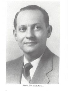 Morris Sher, 1915-1970