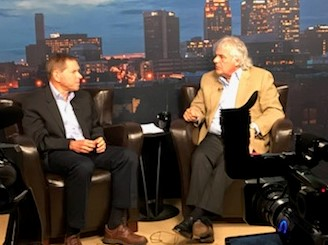 David Sher interviewed by Tommy Spina 'Our Issues Birmingham' WTTO