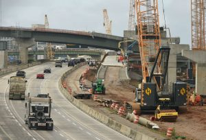 I-20/59 construction in Birmingham