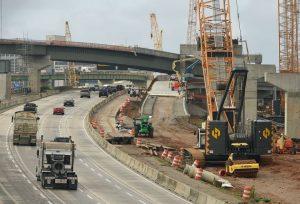 I-20/59 construction in Birmingham