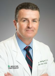 Dr. Jeffrey Kerby, Director of the Division of Acute Care Surgery and Chief of the Trauma Service at UAB Hospital