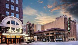 Alabama & Lyric Theatres (Photo courtesy of Birmingham Landmarks Inc.)