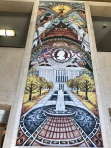 Jefferson County Justice is Blind Mural